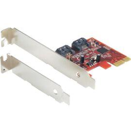 Delock 89270 PCI Express kártya - 2 db belső SATA