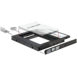 "Delock 61993 Slim SATA 5.25"" HDD/SSD beépítő-keret 12 mm"