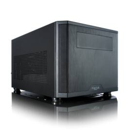 Fractal Design Core 500 Fekete (Táp nélküli) mini-ITX ház