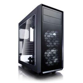 Fractal Design Focus G Black ablakos (Táp nélküli) ATX ház