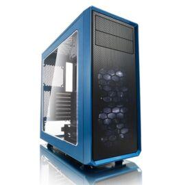 Fractal Design Focus G Kék ablakos (Táp nélküli) ATX ház