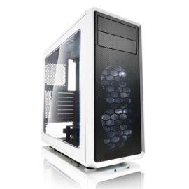Fractal Design Focus G Fehér ablakos (Táp nélküli) ATX ház