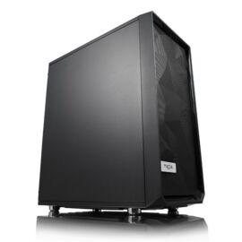 Fractal Design Meshify C Solid Side Fekete (Táp nélküli) ATX ház