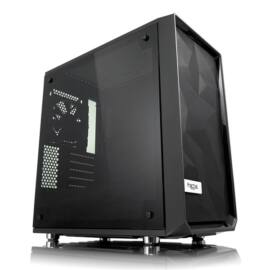 Fractal Design Meshify Mini C Fekete ablakos (Táp nélküli) mATX ház