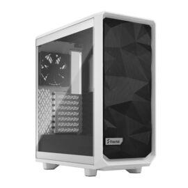 Fractal Design Meshify 2 Compact  Fehér ablakos (Táp nélküli) ATX ház