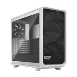 Fractal Design Meshify 2 Fehér világos ablakos (Táp nélküli) E-ATX ház