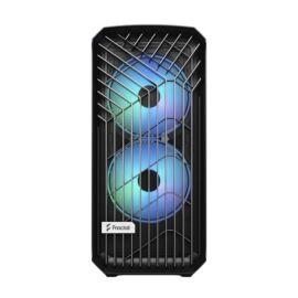 Fractal Design Torrent RGB Fekete ablakos (Táp nélküli) E-ATX ház