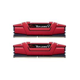 G.Skill 16GB/3600MHz DDR-4 Ripjaws V piros (Kit! 2db 8GB) (F4-3600C19D-16GVRB) memória