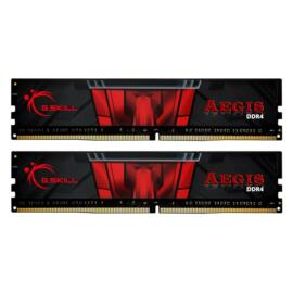 G.Skill 16GB/3000MHz DDR-4 Aegis fekete (Kit 2 db 8GB) (F4-3000C16D-16GISB) memória