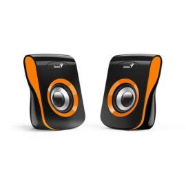 Genius SP-Q180 fekete-narancs USB hangszóró