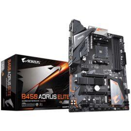 Gigabyte B450-AORUS-ELITE AMD B450 SocketAM4 ATX alaplap