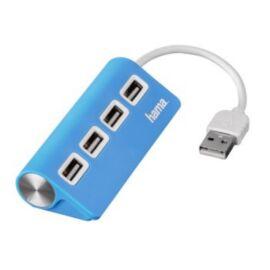 Hama 4 portos kék USB HUB