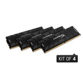 Kingston 64GB/2666MHz DDR-4 (Kit 4db 16GB) HyperX Predator XMP (HX426C13PB3K4/64) memória