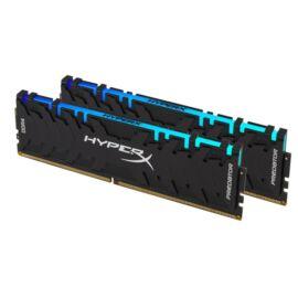 Kingston 32GB/3200MHz DDR-4 HyperX Predator RGB XMP (Kit! 2db 16GB) (HX432C16PB3AK2/32) memória