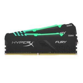 Kingston 16GB/2666MHz DDR-4 1Rx8 HyperX FURY RGB (Kit 2db 8GB) (HX426C16FB3AK2/16) memória