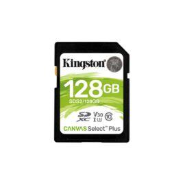 Kingston 128GB SD Canvas Select Plus (SDXC Class 10 UHS-I U3) (SDS2/128GB) memória kártya