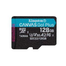 Kingston 128GB SD micro Canvas Go! Plus (SDXC Class 10 UHS-I U3) (SDCG3/128GBSP) memória kártya