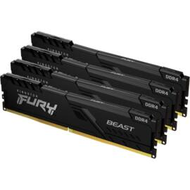 Kingston 32GB/3000MHz DDR-4 (Kit of 4) FURY Beast Black (KF430C15BBK4/32) memória