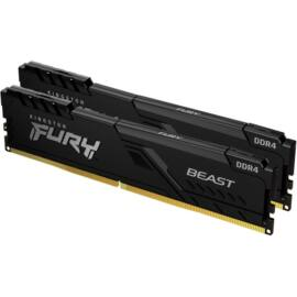 Kingston 16GB/3600MHz DDR-4 (Kit of 2) FURY Beast Black (KF436C17BBK2/16) memória