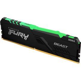 Kingston 16GB/2666MHz DDR-4 1Gx8 FURY Beast RGB (KF426C16BB1A/16) memória