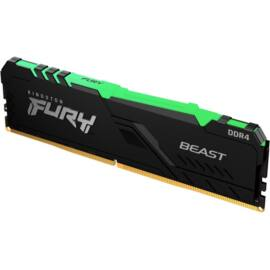 Kingston 16GB/3200MHz DDR-4 1Gx8 FURY Beast RGB (KF432C16BB1A/16) memória