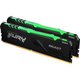 Kingston 32GB/3200MHz DDR-4 (Kit of 2) FURY Beast RGB (KF432C16BBAK2/32) memória