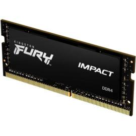 Kingston 16GB/2666MHz DDR-4 1Gx8 FURY Impact (KF426S15IB1/16) notebook memória