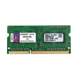 Kingston 4GB/1600MHz DDR-3 (KVR16S11S8/4) notebook memória