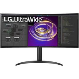 """LG 34"""" 34WP85C-B QHD IPS 21:9 2xHDMI/DP ívelt kijelzős monitor"""