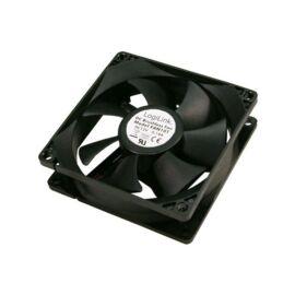 Logilink FAN101 Ventilátor 80x80x25mm fekete