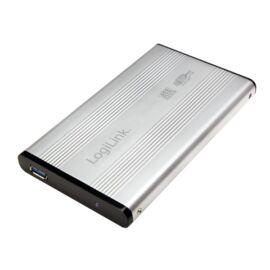 """LogiLink UA0106A Szuper gyors USB 3.0 alumínium HDD ház, 2,5"""" SATA HDD-hez"""