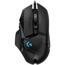 Logitech G502 HERO USB fekete gamer egér