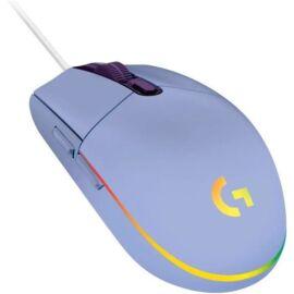 Logitech G102 Lightsync lila gamer egér