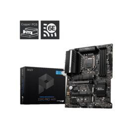 MSI Z590 PRO WIFI Intel Z590 LGA1200 ATX alaplap