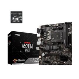 MSI A520M PRO AMD A520 SocketAM4 mATX alaplap