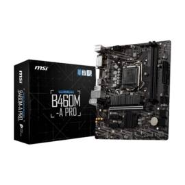 MSI B460M-A PRO Intel B460 LGA1200 mATX alaplap