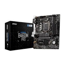 MSI B460M PRO Intel B460 LGA1200 mATX alaplap