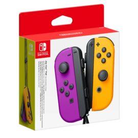 Nintendo Switch Joy-Con Neon Purple/Neon Orange kontroller pár