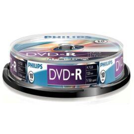 Philips DVD-R47CB 16x cake box lemez 10db/csomag