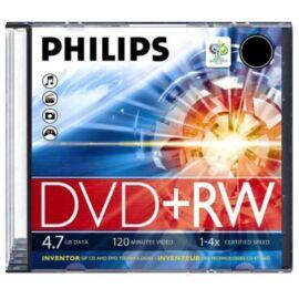 Philips DVD+RW47 4x újraírható DVD lemez