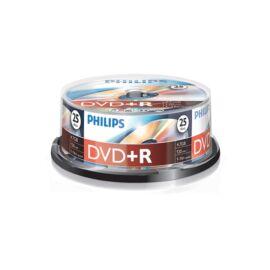 Philips DVD-R 4,7 Gb Írható DVD 25db/henger