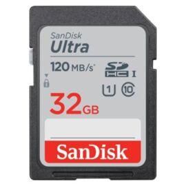Sandisk 32GB SD (SDHC Class 10 UHS-I) Ultra memória kártya
