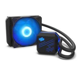 SilentiumPC Navis RGB 120 120mm Fekete vízhűtéses processzor hűtő