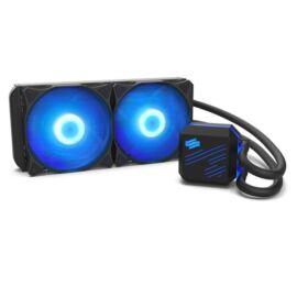 SilentiumPC Navis RGB 240 120mm Fekete vízhűtéses processzor hűtő
