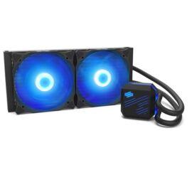 SilentiumPC Navis RGB 280 140mm Fekete vízhűtéses processzor hűtő