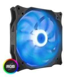 SilentiumPC 140mm Stella HP RGB 140 PWM ház hűtőventilátor
