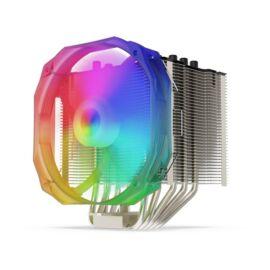 SilentiumPC Fortis 3 EVO ARGB 140mm Fekete processzor hűtő