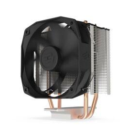 SilentiumPC Spartan 4 100mm Fekete processzor hűtő