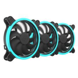SilentiumPC 140mm Corona HP RGB 3-pack ház hűtőventilátor