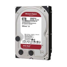 "Western Digital 3,5"" 6000GB belső SATAIII 5400RPM 256MB RED WD60EFAX winchester 3 év"